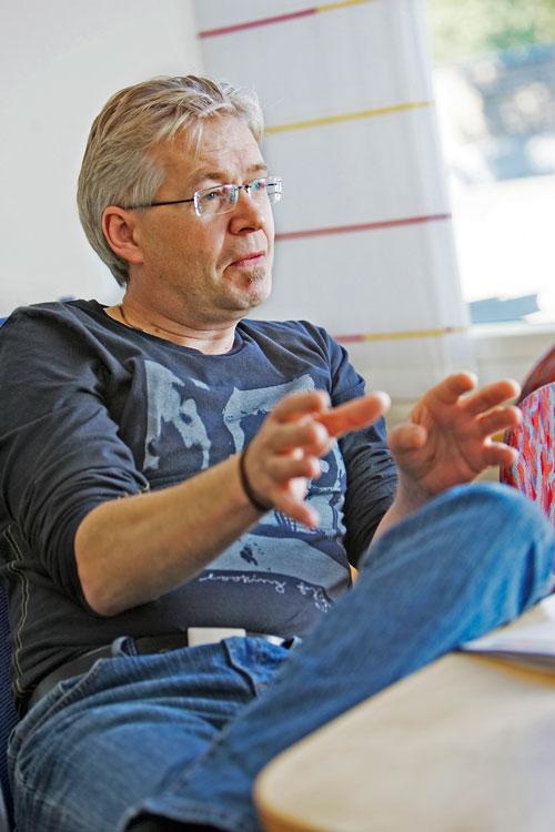 Jónas Einarsson. Foto: Sverre Chr. Jarild.