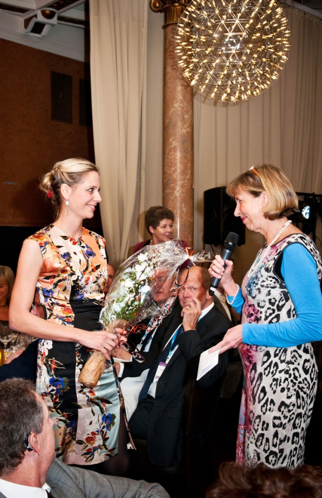 Ung forsker pris 2013 tildelt Kristina Lindemann.
