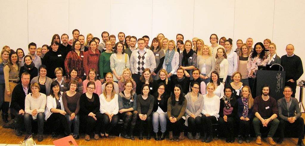 OnkoLis 2013 samlet hele 86 deltakere.