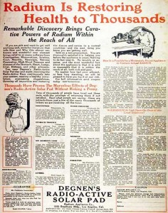 Radium Is Restoring Health to Thousands, Google pictures.