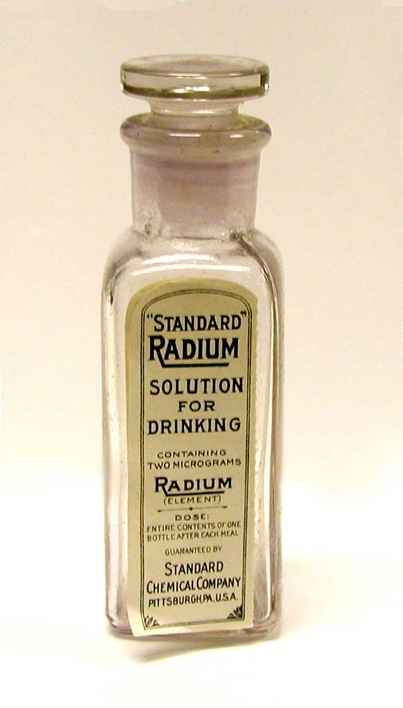 Radium Solution for Drinking. Google pictures.