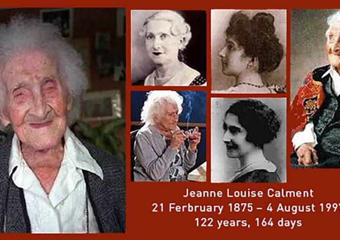 Jeanne Louise Calment, verdens eldste person