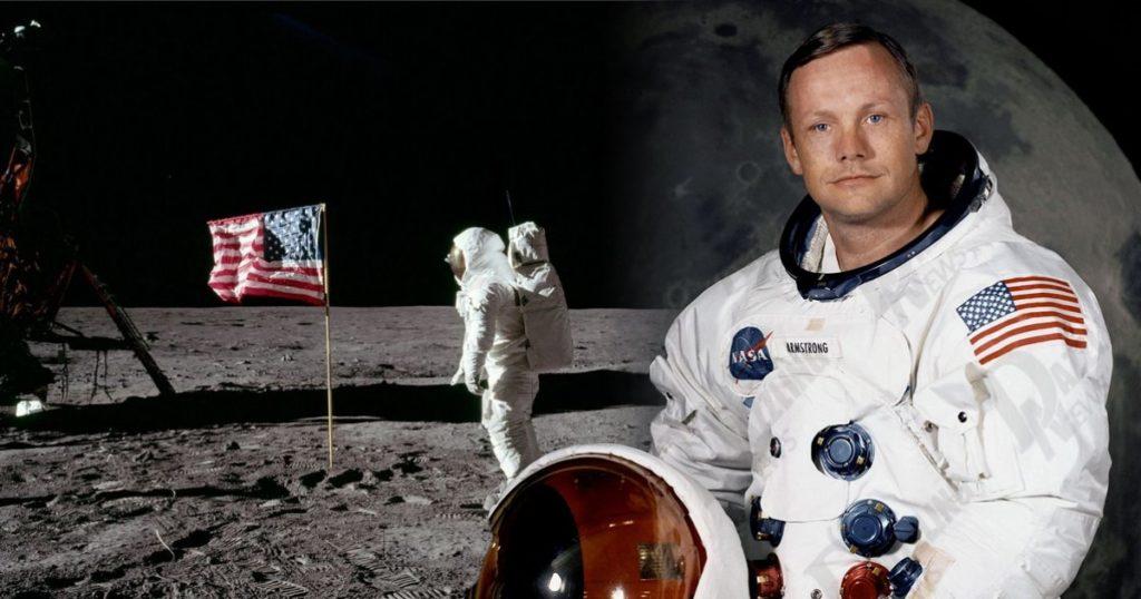 Neil Armstrong, første mann på månen