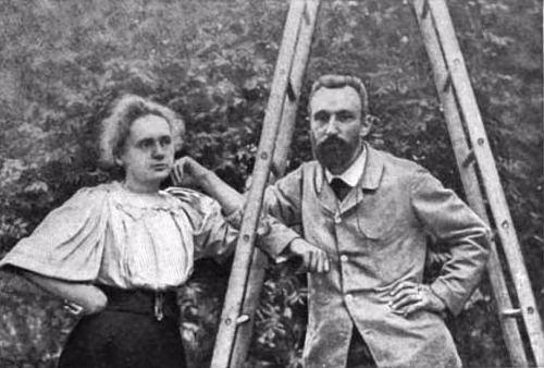 Bilde 1: Marie Curie og Antoine Bequerel