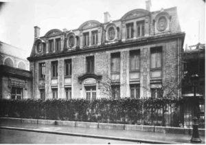 Bilde 2: Institut du Radium ( etablert av Universitetet i Paris), ledet av M.Curie og C.Regaud. I dag et museum