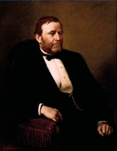 Figur 1: Ulysses S Grant (1822 - 1885), USAs 18. president (Wikipedia)